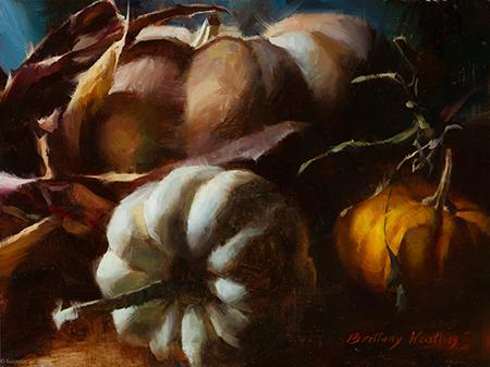 Fairytale Pumpkins - 9 x 12