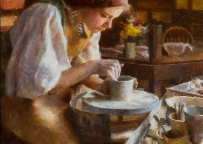 The Potter - 20 x 15